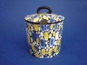 Rare Shelley 'Bubbles' Preserve Pot c1925